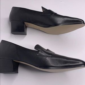 Ipanema Classic Black Leather Loafers 9M
